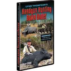 CSVDHH Cold Steel Handgun Hunting Down Under DVD