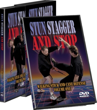CSVDSC Cold Steel Stun Stagger and Stop DVD