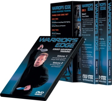 CSVDWEP Cold Steel Warrior's Edge Edged Weapons Training DVD Set