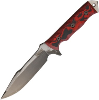 DW03050 Dawson Mojave 6 Fixed Blade Knife Red