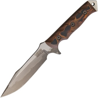 DW03098 Dawson Mojave 6 Fixed Blade Knife Orange