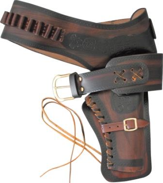 DX01L Denix Single Army Revolver Holster