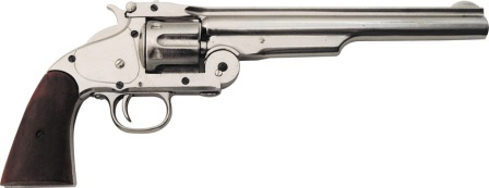 DX1008N Denix Model 1869 .45 Caliber Schofield Revolver Replica