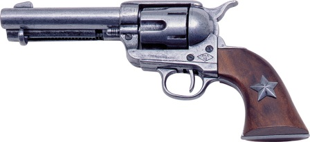 DX1038 Denix 1873 Colt .45 Peacemaker Revolver Replica