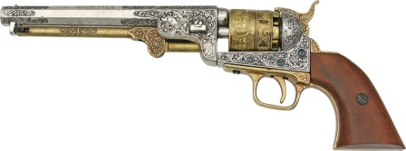 DX1040L Denix 1851 American Civil War Navy Revolver Replica