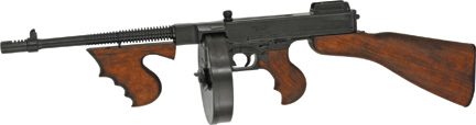 DX1092 Denix 1918 Thompson M1928 Submachine Gun Replica