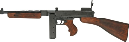 DX1093 Denix M1928 U.S. Submachine Gun Military Version Replica