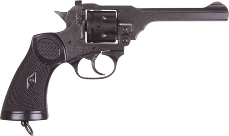 DX1119 Denix 1923 MK 4 Webly British Revolver Replica
