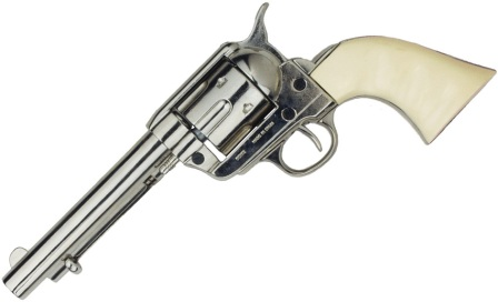 DX1150N Denix 1873 .45 Caliber Peacemaker Revolver Replica