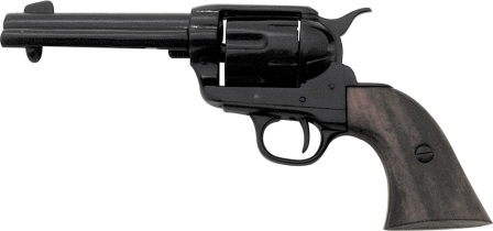 DX1186B Denix 1873 .45 Caliber Peacemaker Revolver Replica