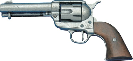 DX1186G Denix 1873 .45 Caliber Peacemaker Revolver Replica