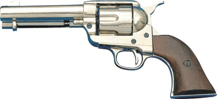 DX1186NQ Denix 1873 .45 Caliber Peacemaker Revolver Replica