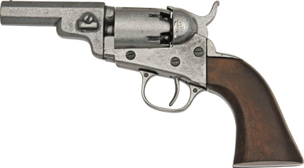 DX1259G Denix 1849 Wells Fargo Revolver Replica