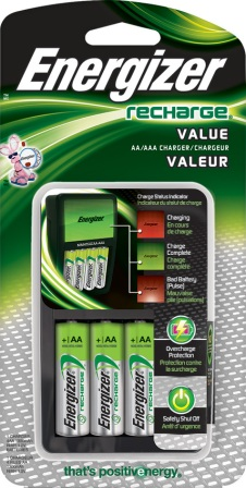 ENRCHV4 Energizer Battery Charger