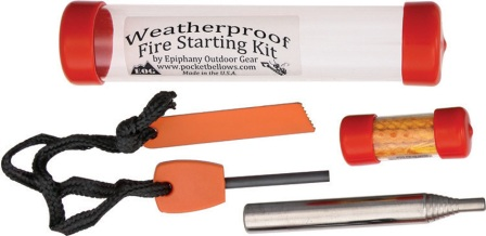 EOGV3LEO Epiphany Outdoor Gear Weatherproof Fire Starting Kit