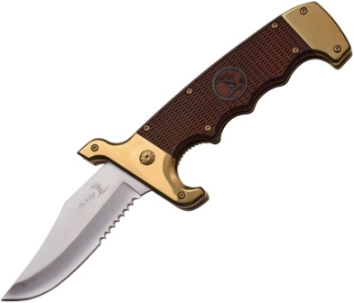 ERA930GB Elk Ridge Linerlock Pocket Knife A/O