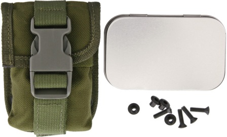 ES52POUCHOD Esee Accessory Pouch OD Green