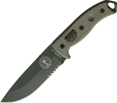 ES5SKOOD Esee Model 5 Survival Escape Evasion Knife