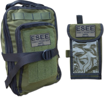 ESAKITOD Esee Advanced Survival Kit with OD Green Bag