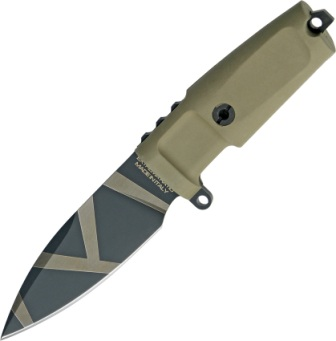 EX160SHRGOG Extrema Ratio Shrapnel Fixed Blade Knife