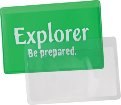 EXP60 Explorer Credit Card Magnifier Lens