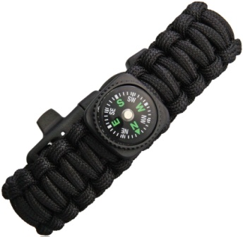 EXP61 Explorer Paracord Bracelet with Compass