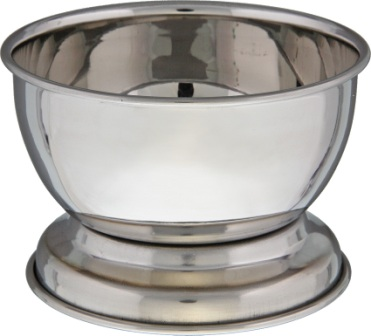 GGBOWL Garos Goods Stainless Shaving Bowl