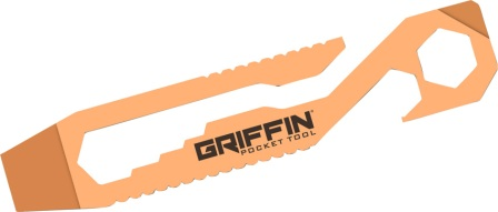 GPTCU Griffin Pocket Tool GPT Pocket Tool Copper