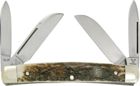 HR124DS Hen & Rooster Knives Congress Pocket Knife