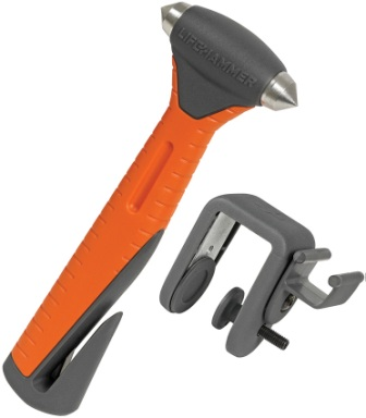 LHR00602 Lifehammer Safety Hammer Plus Auto Escape Tool Orange