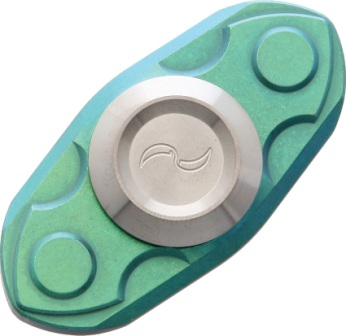 LMDSG Liong Mah Designs Spinner Green