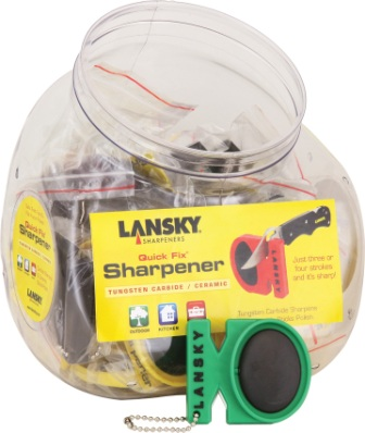LS09885 Lansky Quick Fix Knife Sharpener Set 24 Pack