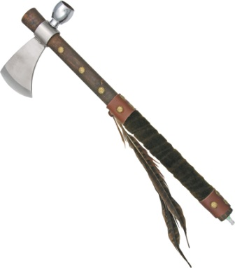 M3587 Indian Tomahawk with Pipe