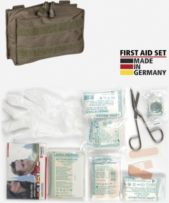 M4378 First Aid Kit OD MOLLE Pouch