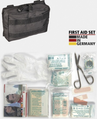 M4379 First Aid Kit Bk MOLLE Pouch