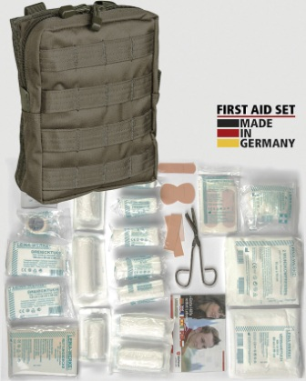 M4380 First Aid Kit OD MOLLE Pouch