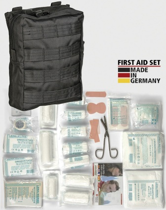 M4381 First Aid Kit Bk MOLLE Pouch