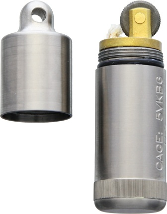 MAR001 Maratac Peanut XL Lighter Titanium