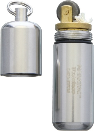 MARA20 Maratac Peanut XL Lighter Stainless