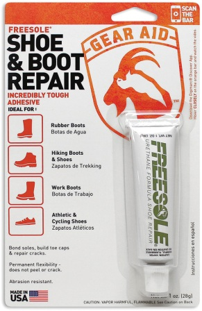 MCN10410 Gear Aid Freesole Shoe Repair 1 oz