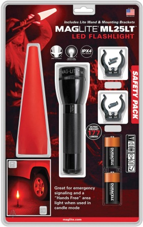 ML88204 Mag-Lite ML25LT LED Flashlight Safety