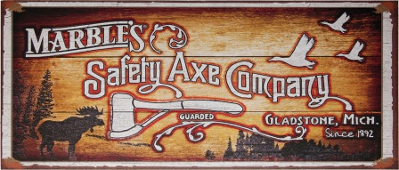 MR559 Marbles Marbles Safety Axe Sign