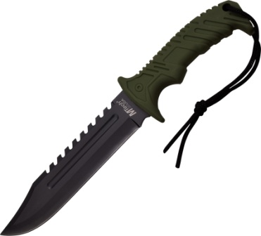 MT2057GN MTech Fixed Blade Knife Army Green
