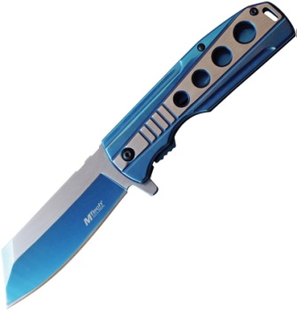 MTA1107BL MTech Framelock Pocket Knife Blue