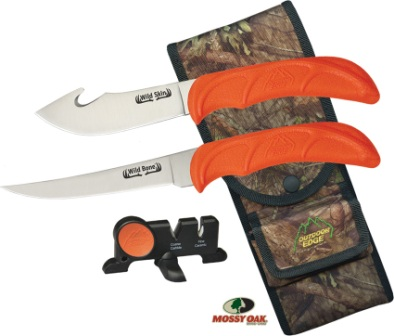 OEWB4C Outdoor Edge Wild Bone Hunting Knife Combo