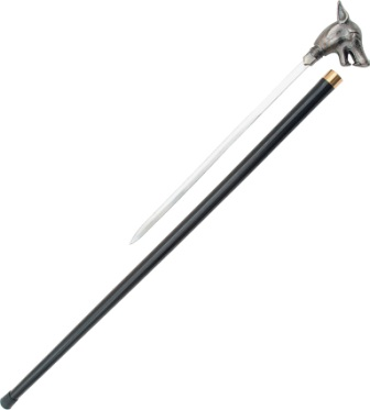 PA1087 Wolf Sword Cane