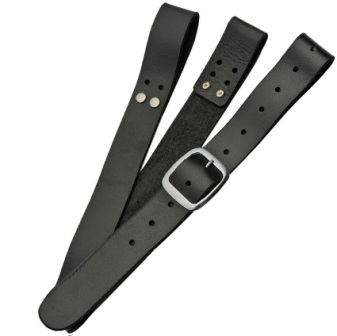 PA4413BK Pakistan Sword Belt Black