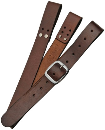 PA4413BR Pakistan Sword Belt Brown