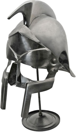 PA901127WOS Pakistan Gladiator Helmet with Stand