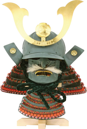 PC2083 Paul Chen Reproduction of Samurai Warrior Helmet